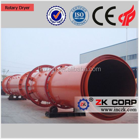 China silica sand rotary dryer with low price