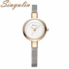 2017 Luxury Women Elegant Bracelet Watch Stainless Steel Wristwatch Chrismas Gifts Ideas For Lovers
