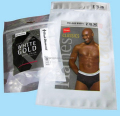 Clear Window Underwear Packing Plastic Bags