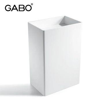 Made in Guangdong China Rectangular Plastic Stone Basins