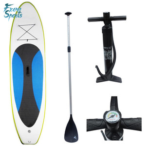 Priviate logo imprited gonfiabile SUP stand up paddle board