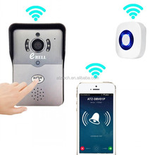ATZ New Product HD 720P Wireless IP Doorbell Smart Home Security Guarder WiFi Video Door Bell Can Match 433MHz Indoor Bell