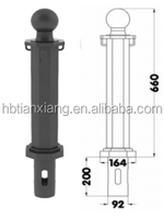 automatic electric bollards