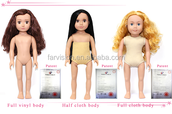 Welcome order Naked Baby Doll Girl City 18 inch Doll Baby