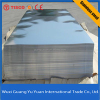 Best price bright annealed brushed metal sheets 304 stainless steel sheet
