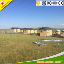 automatic colorful sheet metal modular prefabricated houses homes