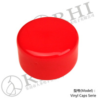 ROHS approved plastic vinyl pvc material 40mm end cap for handrail post