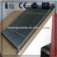 vacuum tube heat pipe solar collector for solar power system