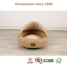 best selling pet cave house cotton dog bed luxury