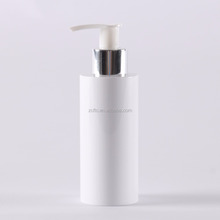Hot sale Plastic empty white bottle containers 100ml 150ml 250ml / PET lotion bottle cosmetic package