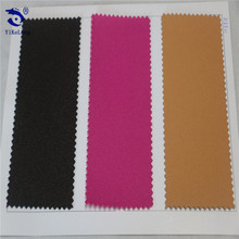 100% PU leather fabric wear-resisting glitter shoes material