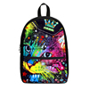 2018 new multi color cat school backpack 3D print girl cute animal backpack bag