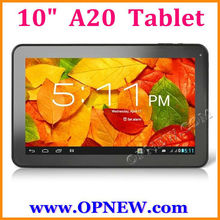10 inch Dual core A20 Android 4.2 Tablets PC 1.52GHz In stock OPNEW Wholesale
