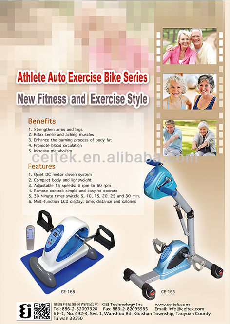 Elderly Knee Support Pedal Sport Mini Exercise Bike for Disabled