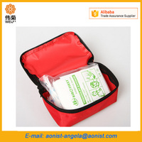Wholesale waterproof Portable small medical products First Aid box / Bag Mini First Aid Kit for Emergency