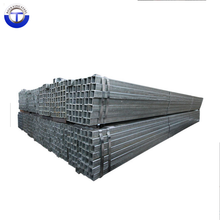 ASTM A53 galvanized square hollow section, zinc coated 40g pre galvanised steel square fence tube size 25x25
