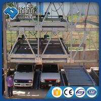 New product parking system lift-sliding car