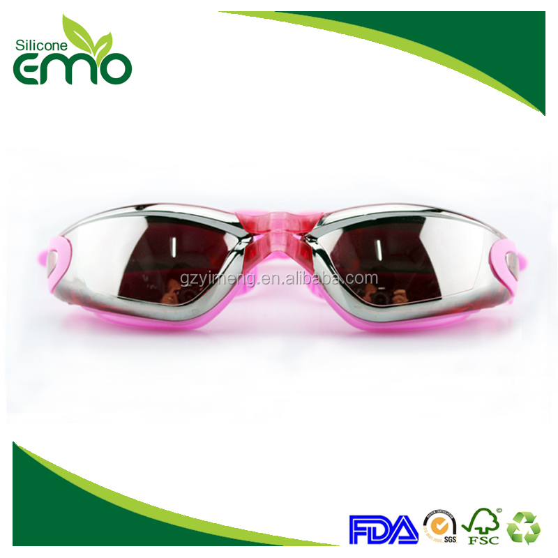 Factory Directly Manufacturing Customized Swimming Goggles Anti-fog Adult