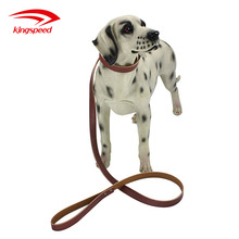 Durable PU Leather Dog Puppy Pet Collars Adjustable Necklace and Leashs