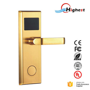 Hotel Room Key Card Reader Lock With Hotel Door Access Card System
