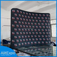 Portable trade show display lightweight quick setup exhibition booth