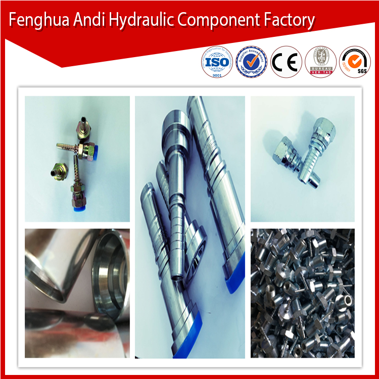 high pressure factory manufacturer low price Stainless fuel Hose Fittings piggable wye