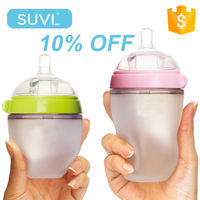 trade assurance baby product 10% OFF 150ml 250ml silicone penis shaped baby feeding bottles in bulk