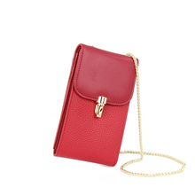 Made in Guangzhou wholesale simple vintage women wallet wallet for lady ,genuine leather wallet