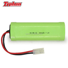 7.2v ni-mh rechargeable battery pack SC 3000mAh with tamiya connector for rc car toy