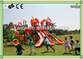 Big Outdoor Play for Children Amusement & Leisure Park and FEC