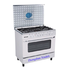 China house cooking range kitchen appliance 36inch 4 gas burners + 2 hotplates baking tray electric gas and oven cook in Zambia