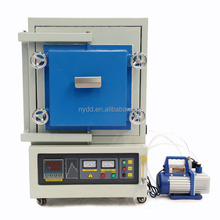 1200C lab electric gas heater dental co-cr alloy hydrogen sintering furnace