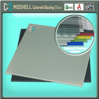 colored window glass balustrade tinted glass inorganic glaze glass with CE ISO CCC certificate