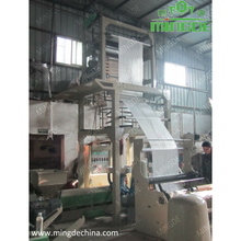 China supplier wenzhou three-layer plastic bags film blowing machine