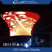 Cool effect pillar LED column display screen