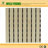 Hot sale Perforated wood veneer mgo board