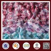 high quality cvc cotton polyester plain burnt-out fabric transfer print flower pattern knitting