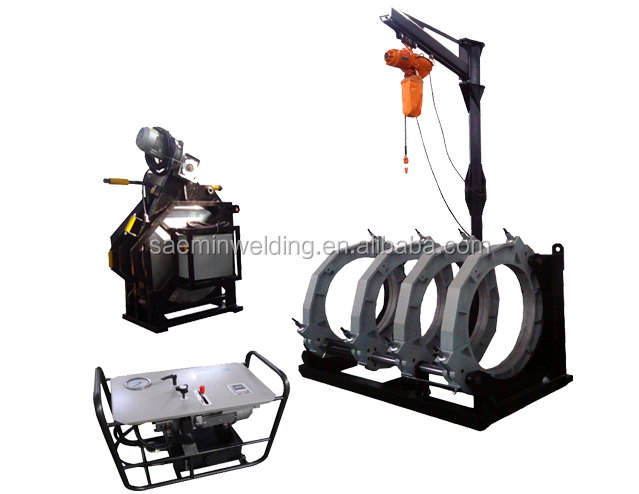 SKC-B1200H field construction butt fusion pe welding machine from china for plastic pipes