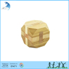 Promotional manufacturers solid wood carved designed magical cube