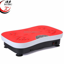 Body slimming exercise machine vibration plate 3d fitness machine with 2 motor