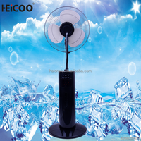 Multi Function Hot Sell Electronic Charger Fan Mist Fan ,stand fan with remote control 2015 Best Seller In China