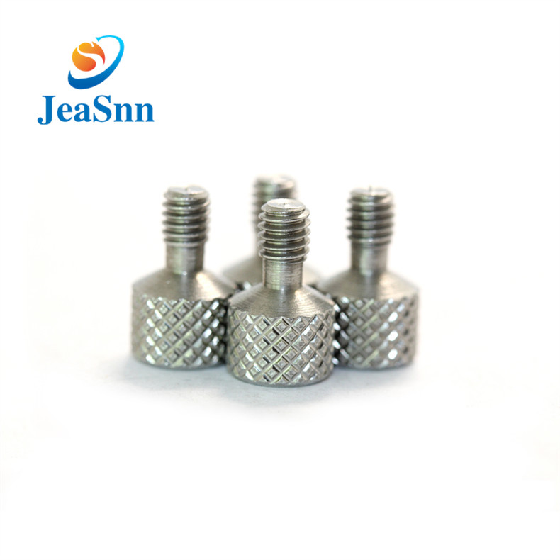 China High Quality Stainless Steel Slotted Knurled Thumb Screws M4