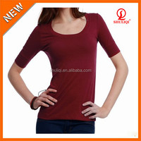 women uniform long sleeve shirt formal long t shirt