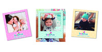 FM006 Flat Paper Magnetic fridge magnet Picture Photo frame