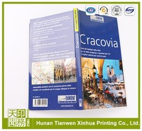 China Printing good quality travel book