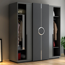 Hot Selling Cheap Custom Particle board Clothes Wardrobe Cabinet