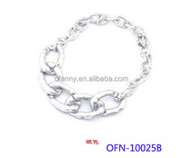 New Arrival 2014 Fashion hot-sale fashion style silver glow necklace jewelry