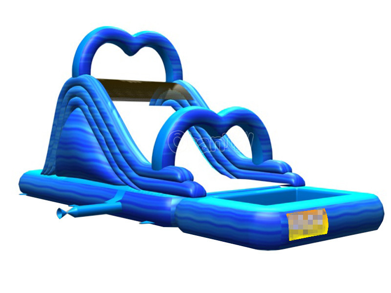 Promotion sale inflatable slide pool slide inflatable water slide with pool