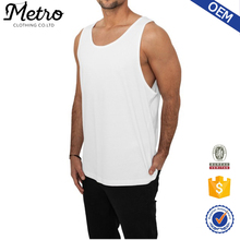 2016 Custom Mens Classic White Loose Jersey Tank Top