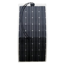 flexible solar panel with A grade solar cell for caravans golf carts boats yatch